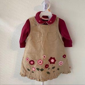 First Impressions Dress & Onesie 12M